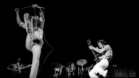 The Who concert at Spectrum on Dec 4, 1973