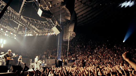 The Who concert at Maple Leaf Gardens on Dec 17, 1982