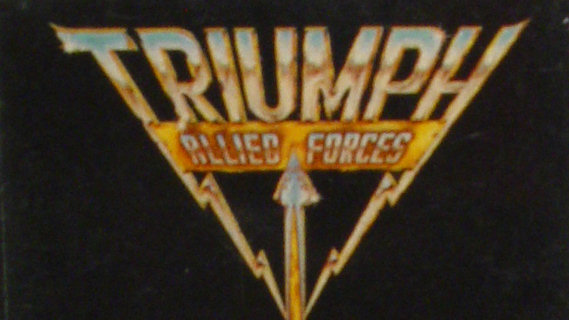 Triumph concert at Cleveland Public Auditorium on Oct 12, 1981