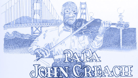 Papa John Creach concert at Bottom Line on Sep 20, 1977