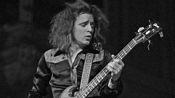 Jack Bruce concert at Bottom Line on Nov 16, 1977