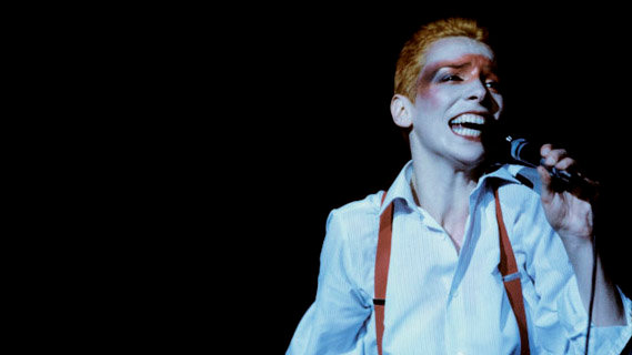 Annie Lennox concert at Royal Albert Hall on Feb 9, 1986