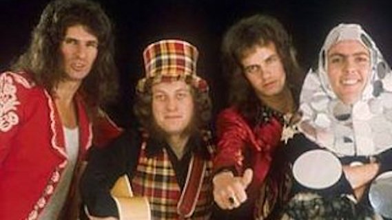 Slade concert at St. Paul Civic Center on Jun 11, 1976