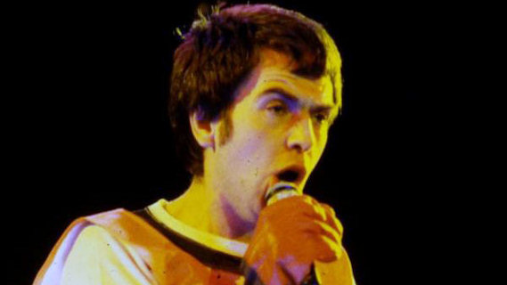 Peter Gabriel concert at Bottom Line on Oct 4, 1978