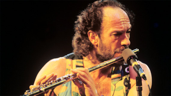 Ian Anderson concert at Interview on Nov 25, 1989