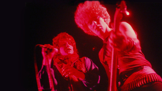 U2 concert at Orpheum Theatre on Nov 14, 1981