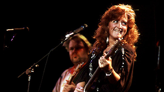 Bonnie Raitt concert at Auditorium Shores on May 25, 1987