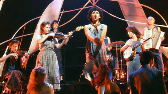 Dexy's Midnight Runners concert at Detroit on Feb 15, 1983