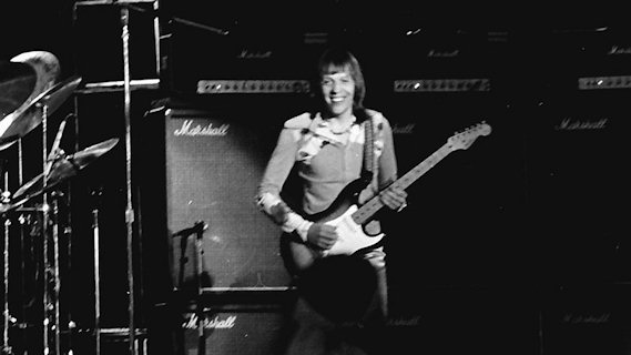 Robin Trower concert at Chicago, IL on Dec 5, 1976