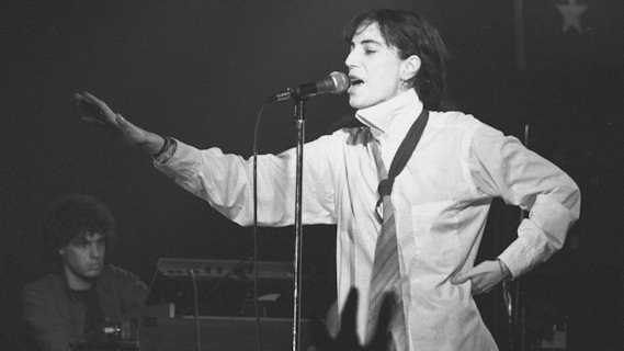 Patti Smith concert at Pavilion on Mar 26, 1978