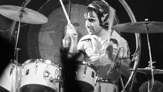 Keith Moon concert at Interview on Dec 29, 1974