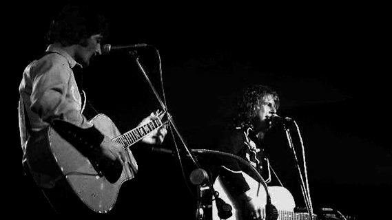 Gene Clark & Roger McGuinn concert at Bottom Line on Mar 20, 1978