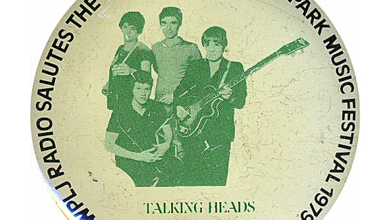 Talking Heads concert at Berklee Performance Center on Aug 24, 1979