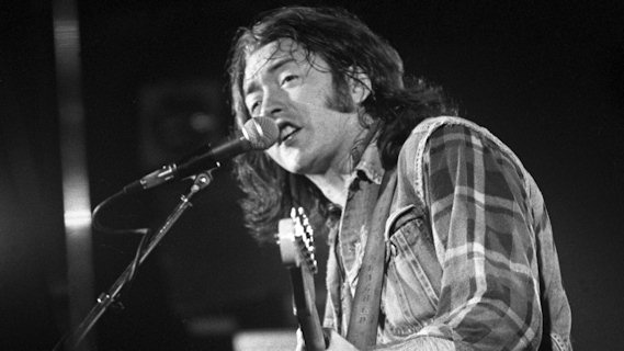 Rory Gallagher concert at Bottom Line on Nov 11, 1978