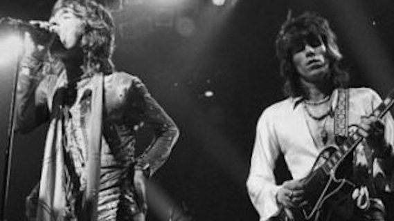 The Rolling Stones concert at Masonic Hall on Jul 6, 1978