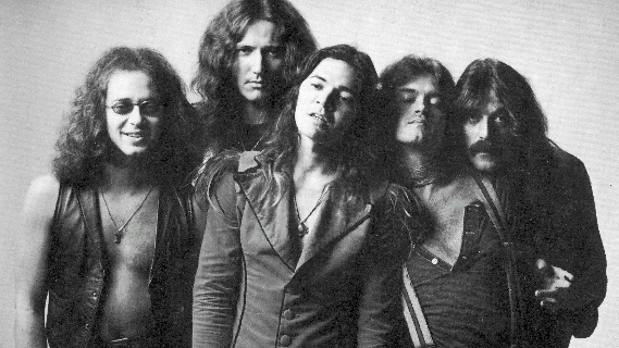 Deep Purple concert at Long Beach Arena on Feb 27, 1976