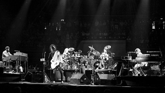 The Doobie Brothers concert at Oakland Coliseum Arena on Dec 30, 1978
