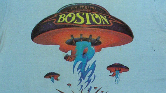Boston concert at Spectrum on Dec 18, 1976