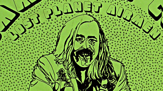 Commander Cody & His Lost Planet Airmen concert at Academy of Music on Nov 23, 1973