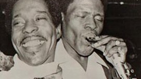 Buddy Guy & Junior Wells Blues Band concert at Bottom Line on Jan 10, 1978