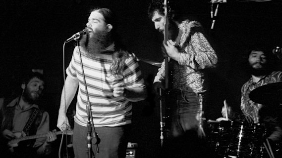 Canned Heat concert at Newark State College on Dec 5, 1970