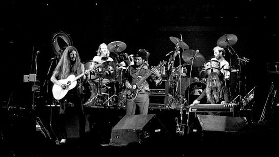 The Doobie Brothers concert at Coliseum on Dec 10, 1978