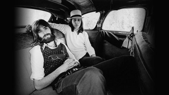 Loggins and Messina concert at Spectrum on Nov 8, 1972