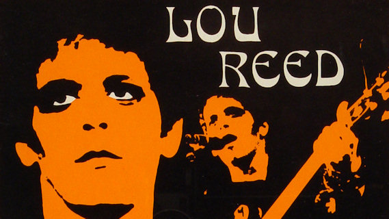 Lou Reed concert at Oval Hall on Sep 29, 1973
