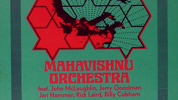 Mahavishnu Orchestra concert at Morris A. Mechanic Theater on May 9, 1973