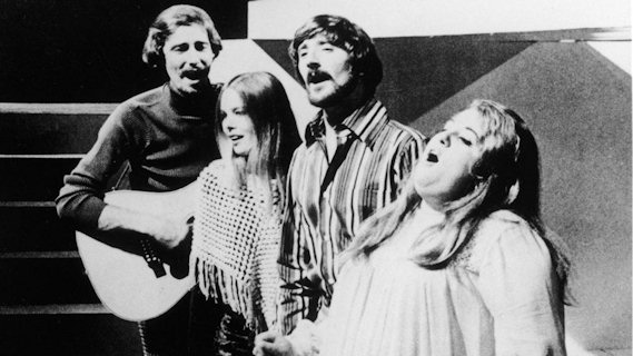 The Mamas & the Papas concert at LA Country Club on Jul 21, 1982