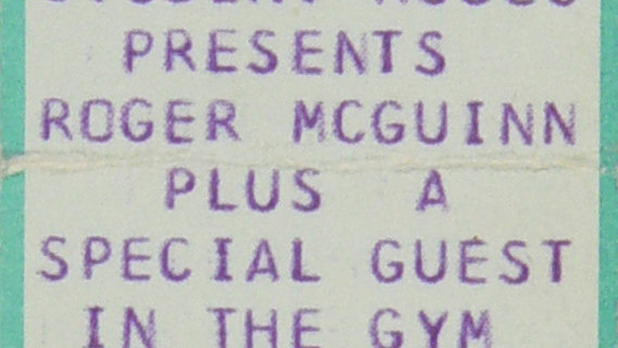Roger McGuinn concert at Performance Center on Mar 11, 1974