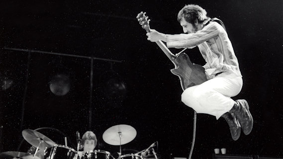 The Who concert at Capital Centre Largo on Dec 6, 1973