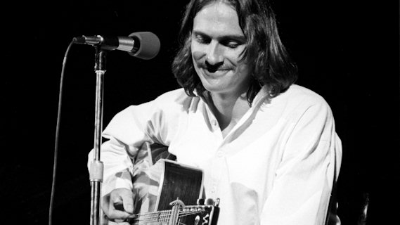 James Taylor concert at Carnegie Hall on May 27, 1974