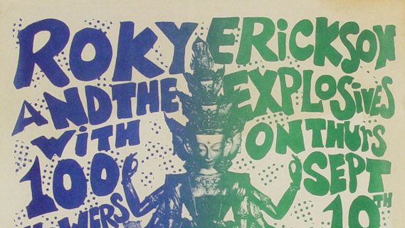 Roky Erickson and the Explosives concert at Great American Music Hall on Mar 1, 2007