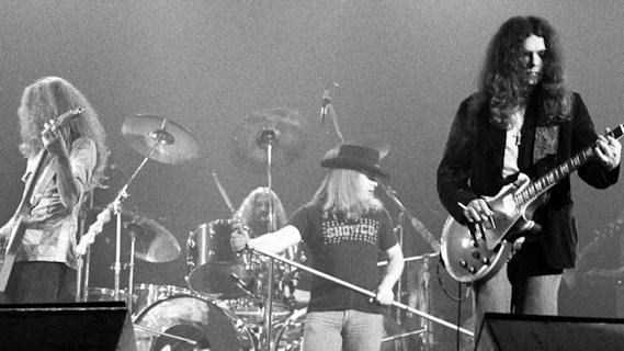 Lynyrd Skynyrd concert at Winterland on Mar 7, 1976
