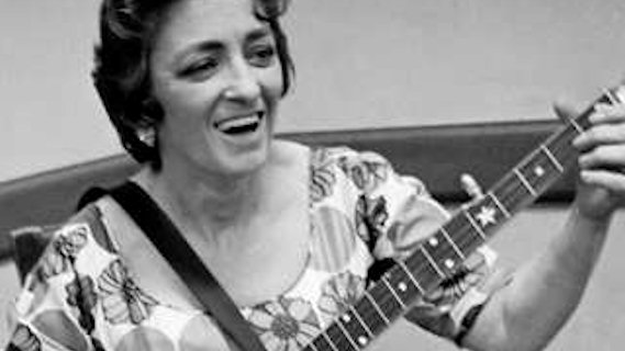 Maybelle Carter concert at Ash Grove on Apr 18, 1963