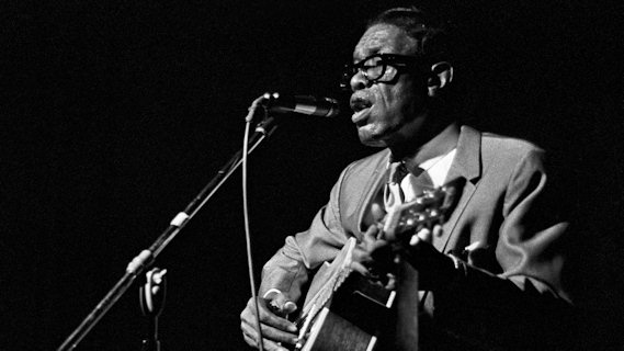 Lightnin' Hopkins concert at Ash Grove on Mar 23, 1967