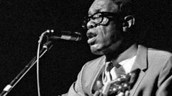 Lightnin' Hopkins concert at Ash Grove on Sep 19, 1967
