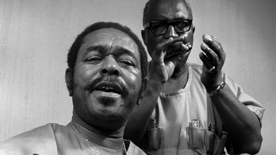 Sonny Terry & Brownie McGhee concert at Ash Grove on Jan 27, 1967