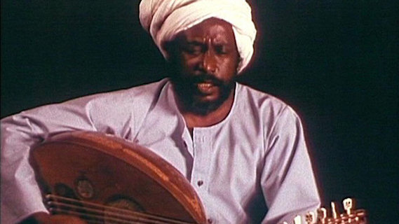 Hamza el Din concert at Ash Grove on Jan 17, 1970