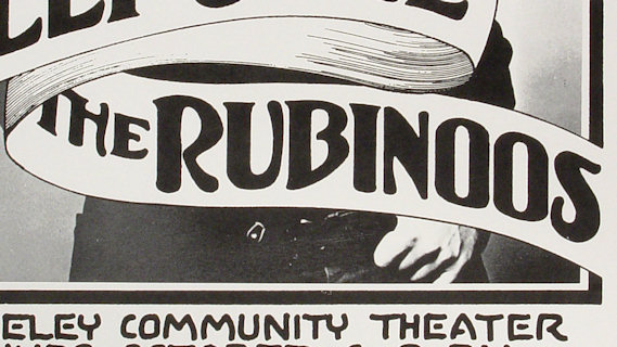 Rubinoos concert at Berkeley Community Theatre on May 24, 1980