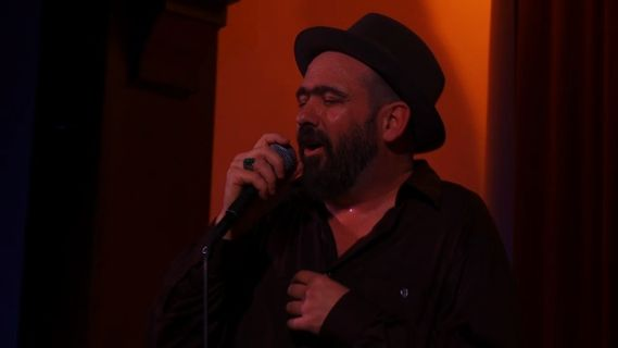 Mark Eitzel concert at Swedish American Hall on Feb 28, 2009