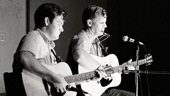 Doc Watson and Merle Watson concert at Ash Grove on May 4, 1967