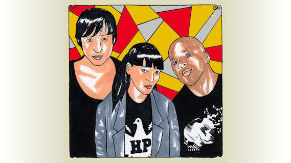 Atari Teenage Riot concert at Daytrotter Studio on May 9, 2011