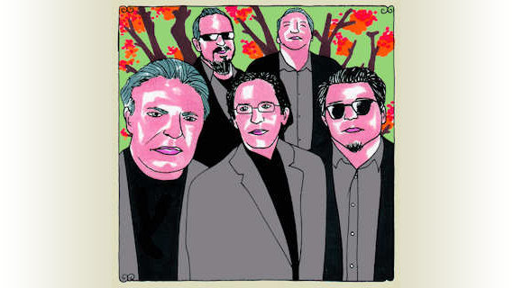 Los Lobos concert at Daytrotter Studio on Mar 7, 2011