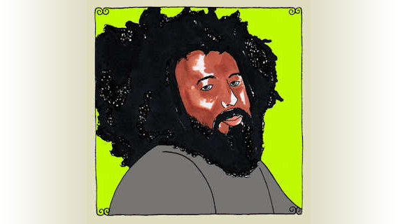 Reggie Watts concert at Daytrotter Studio on May 23, 2011