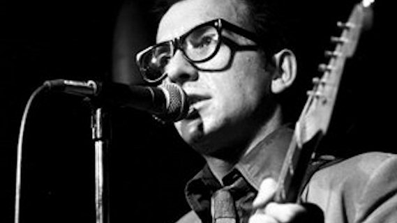 Elvis Costello &amp; the Attractions concert at Heatwave Festival on Aug 23, 1980