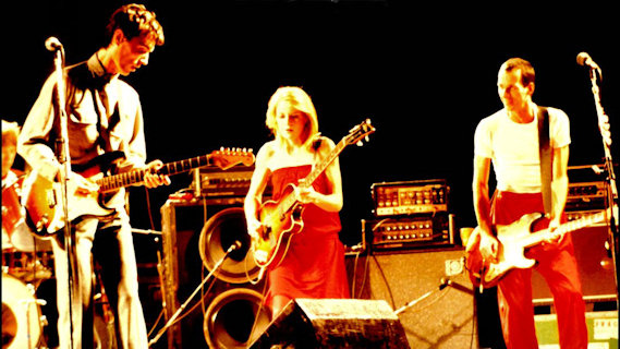 Talking Heads concert at Heatwave Festival on Aug 23, 1980
