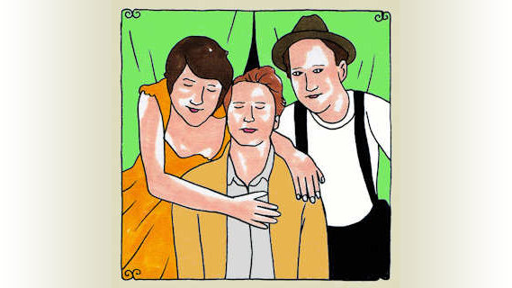 The Lumineers concert at Daytrotter Studio on Oct 11, 2011