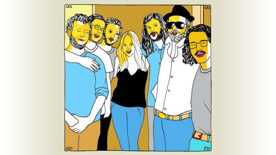 Truth and Salvage Co. (featuring Lissie) concert at Daytrotter Studio on Mar 15, 2012